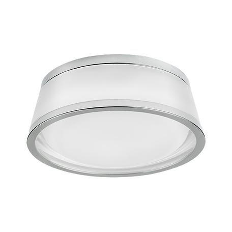 Встраиваемый светодиодный светильник Lightstar Maturo 072172, IP44, LED 7W 3000K 650lm, хром, стекло