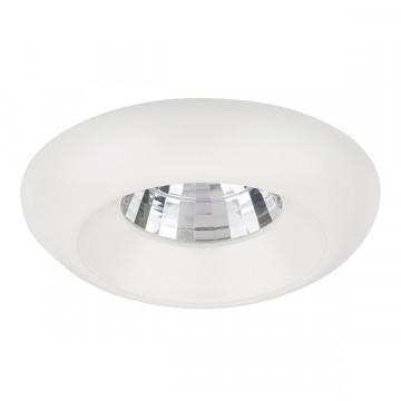 Встраиваемый светодиодный светильник Lightstar Monde 071056, IP44, LED 5W 3000K 400lm, белый, металл