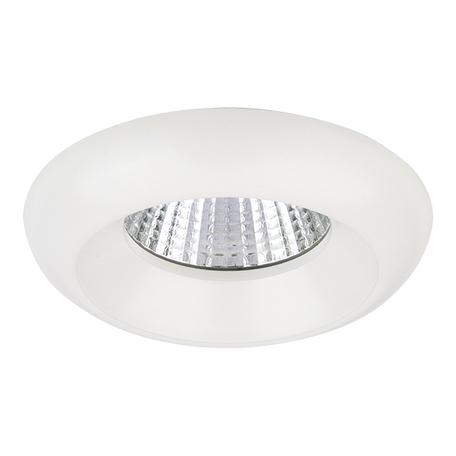 Встраиваемый светодиодный светильник Lightstar Monde 071076, IP44, LED 7W 3000K 560lm, белый, металл