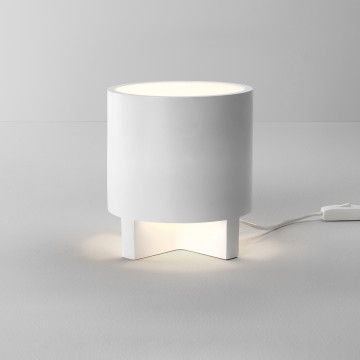Настольная лампа Astro Martello 1395001 (8115), 1xE14x5W, белый, под покраску, гипс, пластик