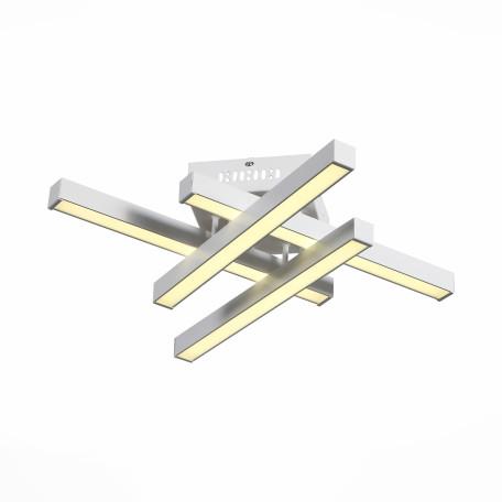 Потолочная светодиодная люстра с пультом ДУ ST Luce Samento SL933.502.04, LED 48W, 4000K (дневной), белый, металл, пластик