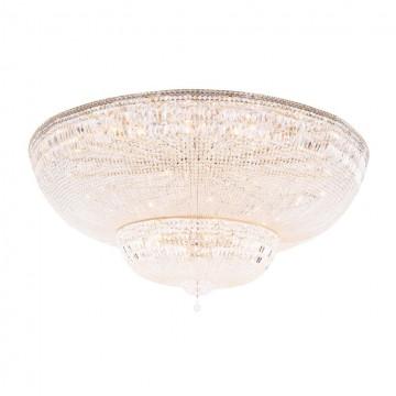 Потолочная люстра Maytoni Palace DIA100-CL-42-G, золото, прозрачный, металл, хрусталь
