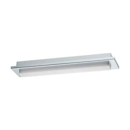 Настенный светодиодный светильник для подсветки зеркал Eglo Cumbrecita 97967, IP44, LED 8,3W 4000K 900lm CRI>80, хром, белый, металл, пластик
