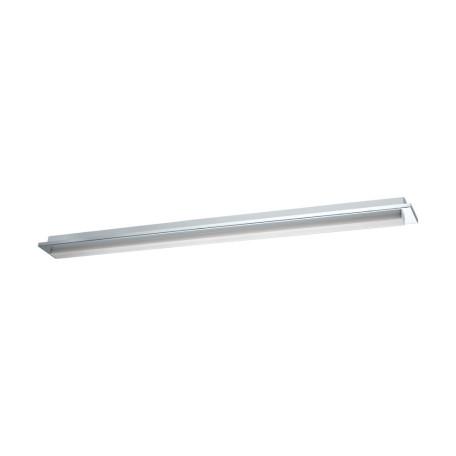 Настенный светодиодный светильник для подсветки зеркал Eglo Cumbrecita 97969, IP44, LED 24,3W 4000K 2600lm CRI>80, хром, белый, металл, пластик