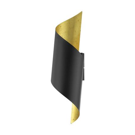 Настенный светильник Eglo Jabaloyas 39654, 1xE27x40W, черный, металл
