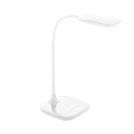 Настольная светодиодная лампа Eglo Masserie 98247, LED 3,4W 4000K 470lm CRI>80, белый, пластик