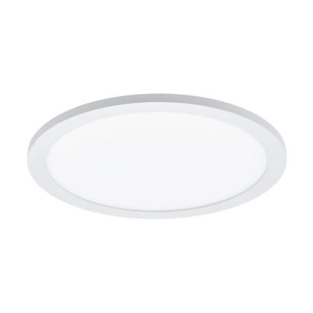 Потолочный светодиодный светильник с пультом ДУ Eglo Sarsina-A 98207, LED 14W 2765K 2000lm, белый, металл