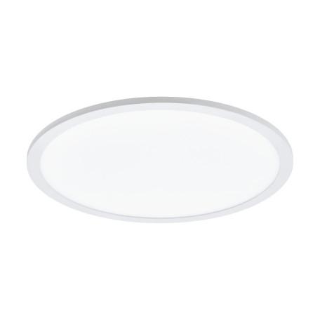 Потолочный светодиодный светильник с пультом ДУ Eglo Sarsina-A 98208, LED 19,5W 2765K 2750lm, белый, металл