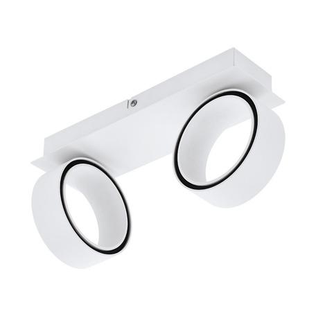Потолочный светодиодный светильник с регулировкой направления света Eglo Albariza 39585, LED 10W 3000K 1300lm