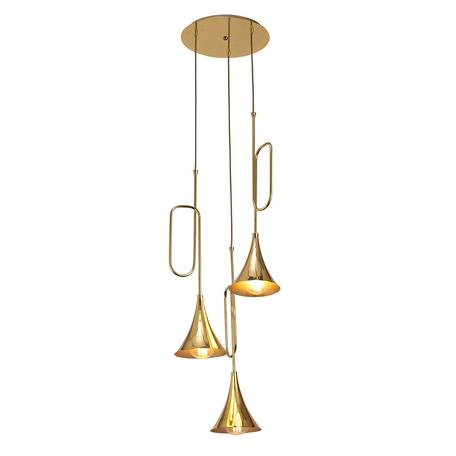 Люстра-каскад Mantra Jazz 5896, золото, металл
