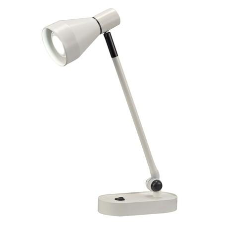 Настольная лампа Mantra Kos 5848, белый, металл