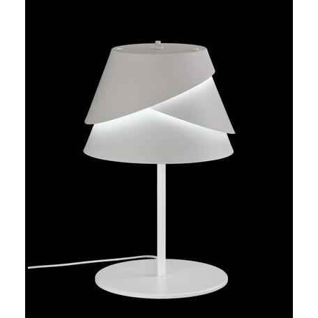 Настольная лампа Mantra Alboran 5863, белый, металл