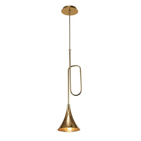 Подвесной светильник Mantra Jazz 5899, золото, металл