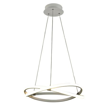 Подвесной светильник Mantra Infinity 5990, белый, металл, пластик