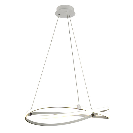 Подвесной светильник Mantra Infinity 5991, белый, металл, пластик