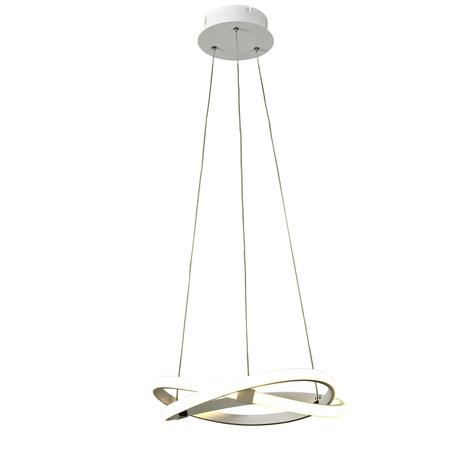 Подвесной светильник Mantra Infinity 5993, белый, металл, пластик