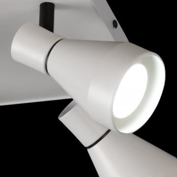 Потолочная люстра с регулировкой направления света Mantra Kos 5844, белый, металл - миниатюра 4