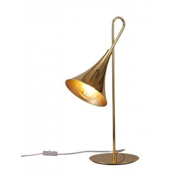 Настольная лампа Mantra Jazz 5909, золото, металл