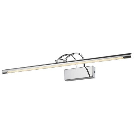 Настенный светодиодный светильник Velante 208-161-01, LED 16W 4000K, хром, металл