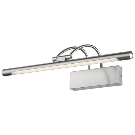 Настенный светодиодный светильник Velante 208-201-01, LED 9W 4000K, никель, металл