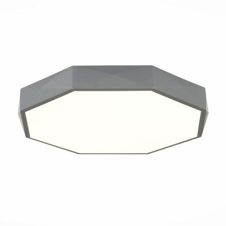 Потолочный светодиодный светильник Evoluce Rondo SLE200872-01, LED 45W 2700lm, серый, металл с пластиком