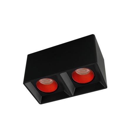 Потолочный светодиодный светильник Denkirs DK3020BRD DK3085-BK+RD, LED