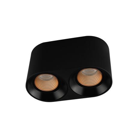 Потолочный светодиодный светильник Denkirs DK3020BBR DK3096-BK+BR, LED