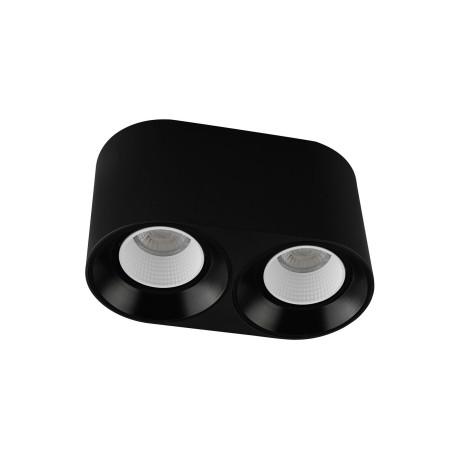Потолочный светодиодный светильник Denkirs DK3020BW DK3096-BK+WH, LED