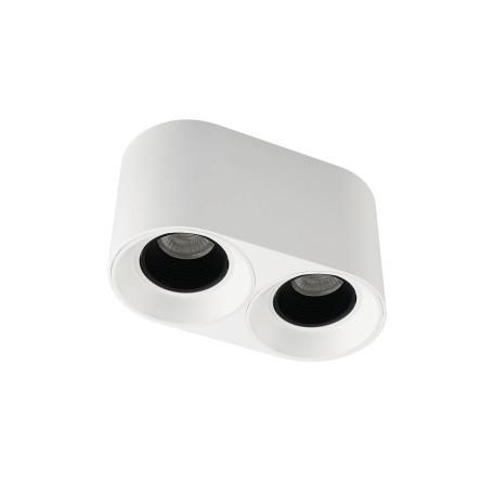 Потолочный светодиодный светильник Denkirs DK3020WB DK3096-WH+BK, LED