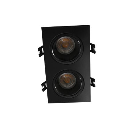 Встраиваемый светодиодный светильник Denkirs DK3020BВ DK3072-BK, LED