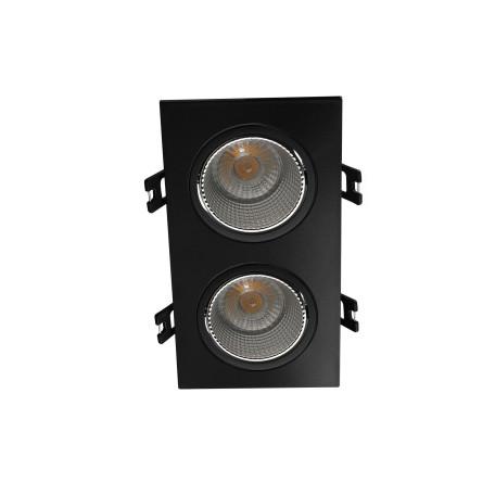 Встраиваемый светодиодный светильник Denkirs DK3020BC DK3072-BK+CH, LED