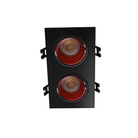 Встраиваемый светодиодный светильник Denkirs DK3020BRD DK3072-BK+RD, LED