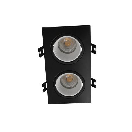 Встраиваемый светодиодный светильник Denkirs DK3020BW DK3072-BK+WH, LED
