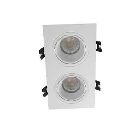Встраиваемый светодиодный светильник Denkirs DK3020WW DK3072-WH, LED