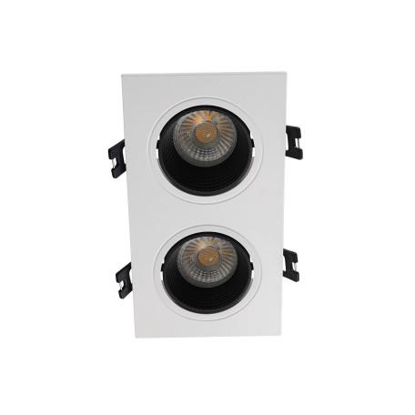 Встраиваемый светодиодный светильник Denkirs DK3020WB DK3072-WH+BK, LED