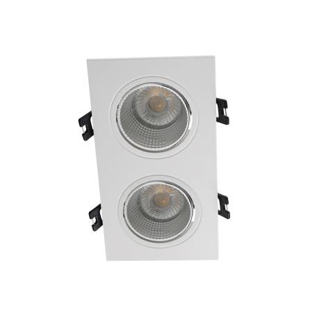 Встраиваемый светодиодный светильник Denkirs DK3020WC DK3072-WH+CH, LED