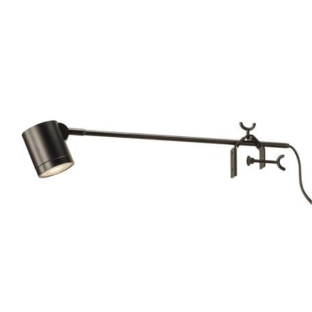 Мебельный светодиодный светильник SLV ANELA LED DISPLAY 1000733, LED 3000K, черный, металл