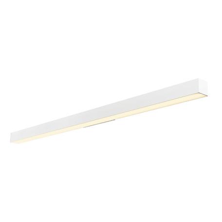 Настенный светодиодный светильник для подсветки зеркал SLV Q-LINE® WALL LED 1000668, LED 3000K, белый