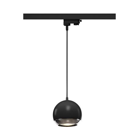 Подвесной светильник для шинной системы SLV 3Ph, LIGHT EYE® 150 PD 1000709, 1xGU10x75W, черный