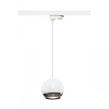 Подвесной светильник для шинной системы SLV 3Ph, LIGHT EYE® 150 PD 1000710, 1xGU10x75W, белый