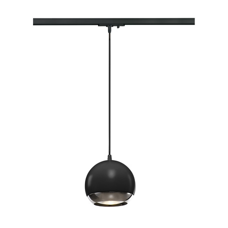 Подвесной светильник для шинной системы SLV 1PHASE-TRACK, LIGHT EYE® 150 PD 1000713, 1xGU10x75W, черный