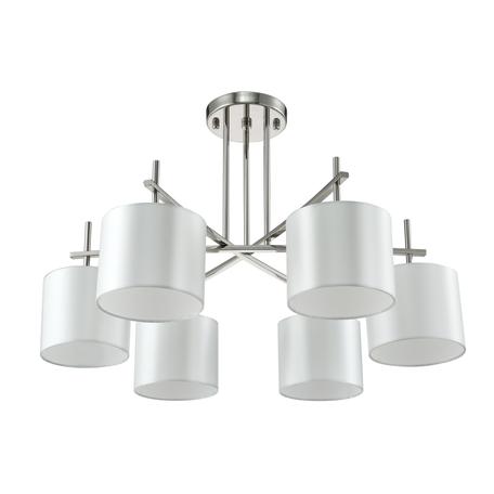 Светильник Crystal Lux SERGIO PL6 NICKEL 2900/306, 6xE14x60W