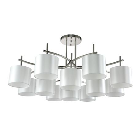 Светильник Crystal Lux SERGIO PL8+4 NICKEL 2900/312, 12xE14x60W