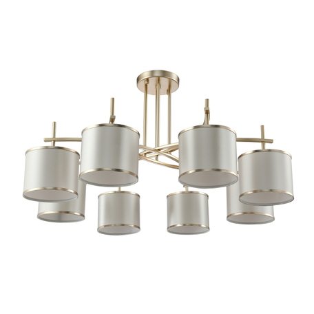 Светильник Crystal Lux SERGIO PL8 GOLD 2901/308, 8xE14x60W