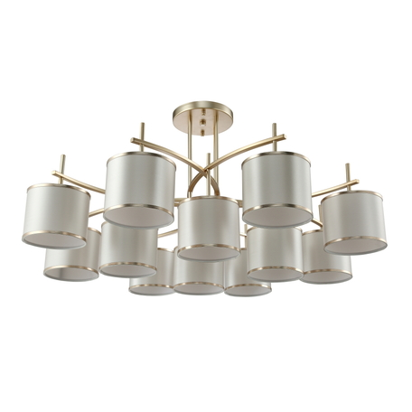 Светильник Crystal Lux SERGIO PL8+4 GOLD 2901/312, 12xE14x60W