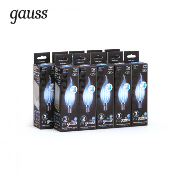 Филаментная светодиодная лампа Gauss 104801207-S, сталь - миниатюра 2