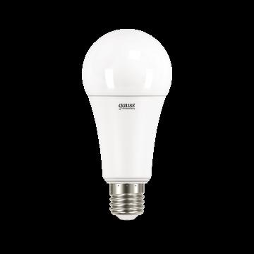 Светодиодная лампа Gauss Elementary 70225 груша E27 35W, 4100K (холодный) CRI>80 180-240V, гарантия 2 года - миниатюра 2
