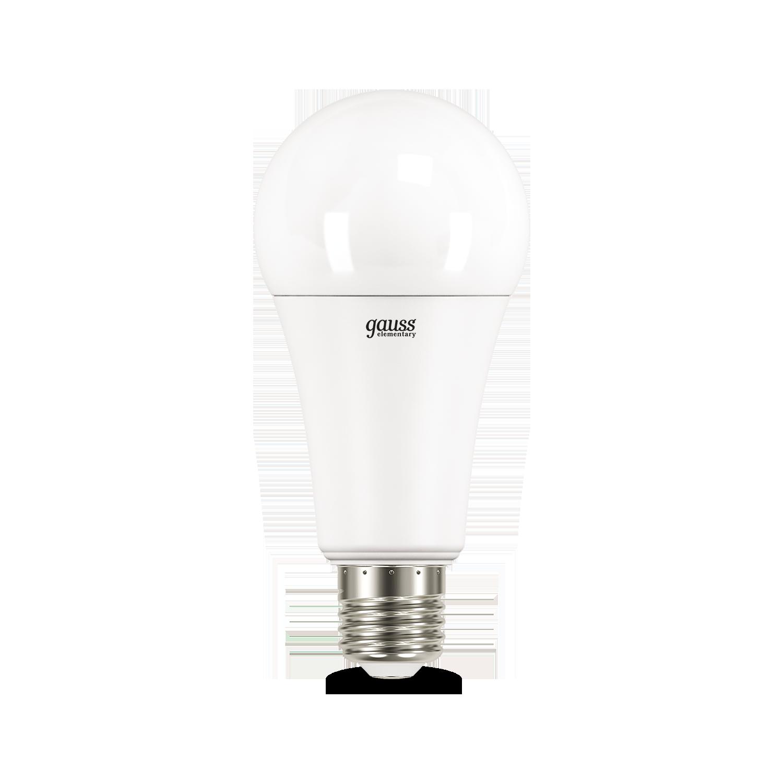 Светодиодная лампа Gauss Elementary 70225 груша E27 35W, 4100K (холодный) CRI>80 180-240V, гарантия 2 года - фото 2