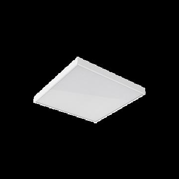 Светодиодная панель для встраиваемого или накладного монтажа Gauss MiR G1-A0-00070-01G03-2003565, IP40, LED 35W 6500K 3500lm CRI80, белый, металл с пластиком