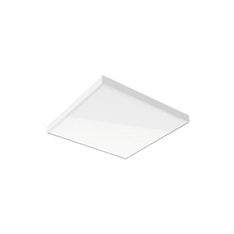 Светодиодная панель для встраиваемого или накладного монтажа Gauss MiR G1-A0-00070-01G02-2003565, IP40, LED 35W 6500K 3000lm CRI80, белый, металл с пластиком